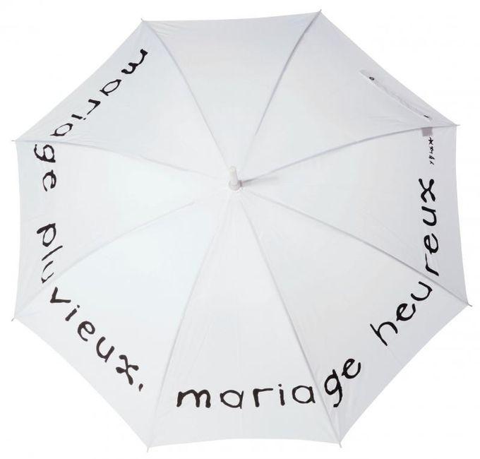 livraison gratuite 157bc 387df Parapluie ou pas parapluie ? - Organisation du mariage ...