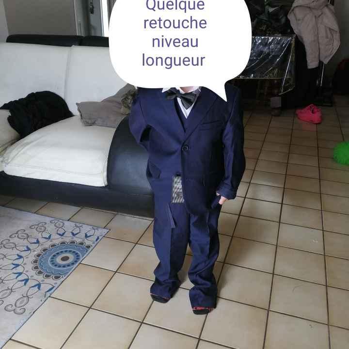 Costume des enfant reçu - 2