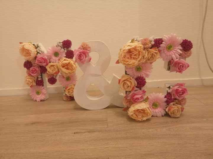 Lettres fleuries - 2