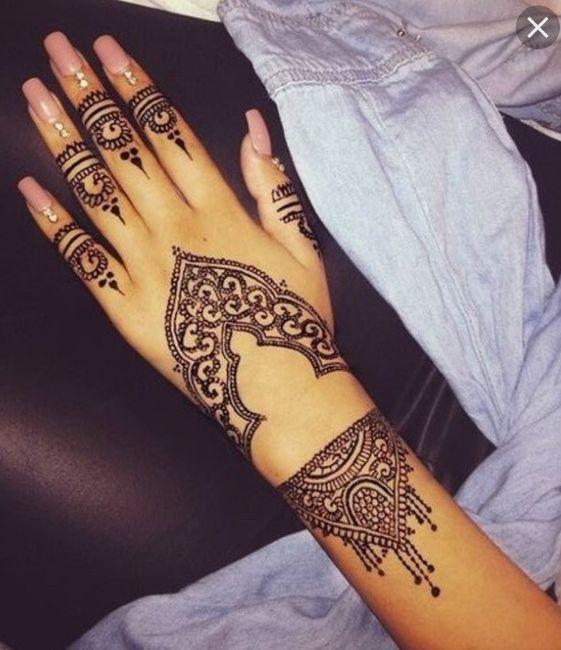 Le choix du henna 🖑💅 1