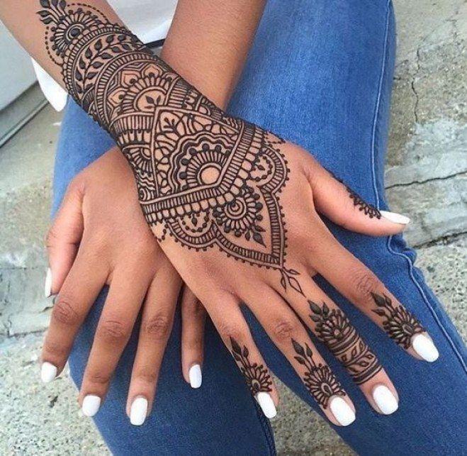 Le choix du henna 🖑💅 - 2