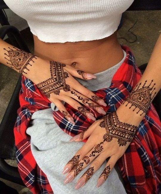 Le choix du henna 🖑💅 - 3