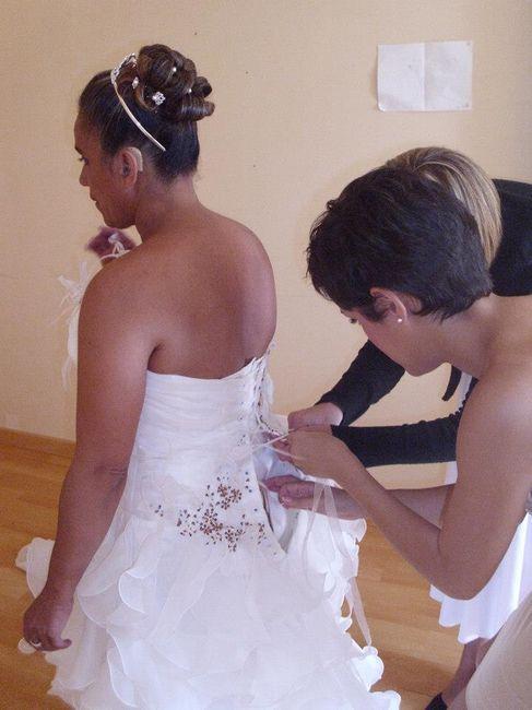 mariage le 21 juillet 2012
