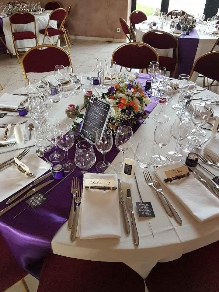 Comment seront décorées vos tables sur le thème champêtre ? - 1