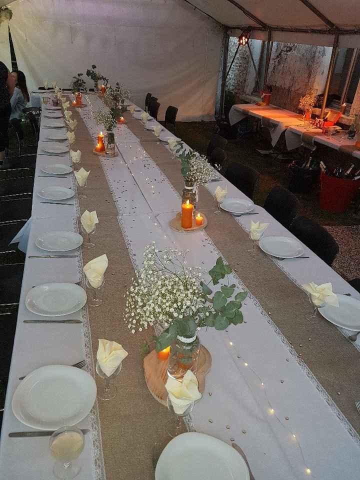 Comment seront décorées vos tables sur le thème champêtre ? - 3