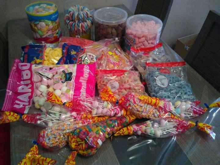 Bonbons pour le candy bar - 1