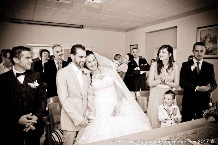 ça y est nous sommes mariés