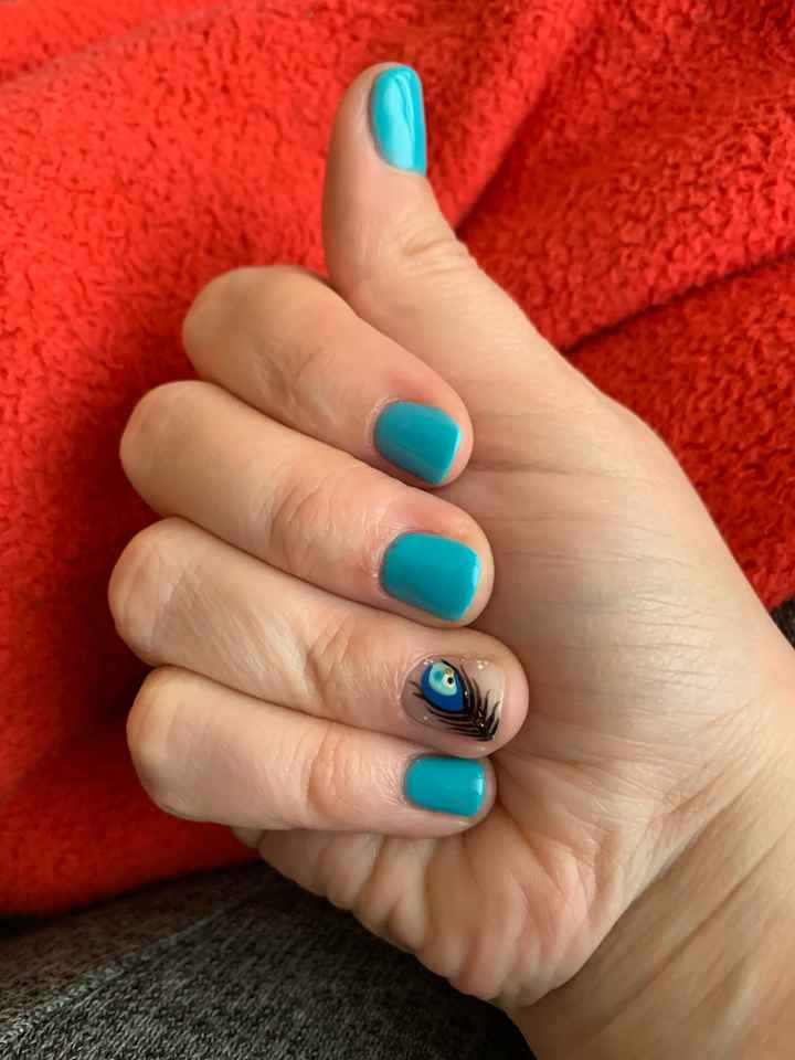 Aujourd'hui essaye ongles 😉 - 1