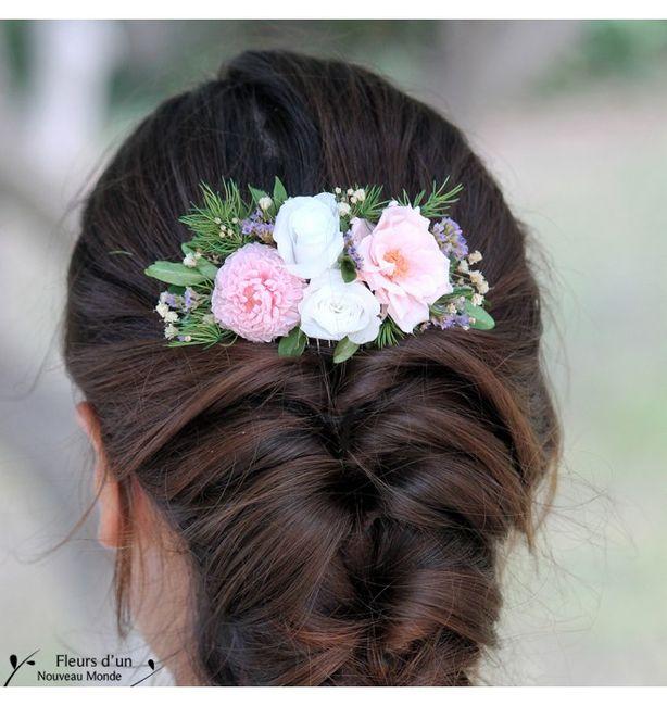 Peigne A Cheveux Avec Fleurs Naturels Mode Nuptiale Forum