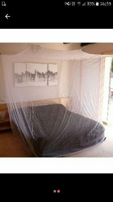 Recyclage moustiquaire - idée décoration - 2