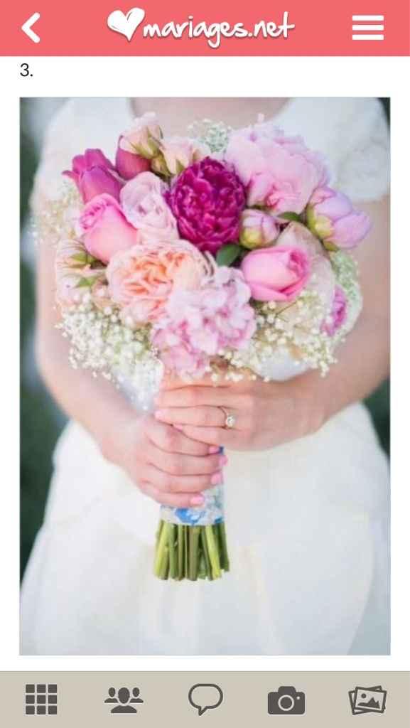 Mariées de mai, montrez-moi vos bouquets - 1