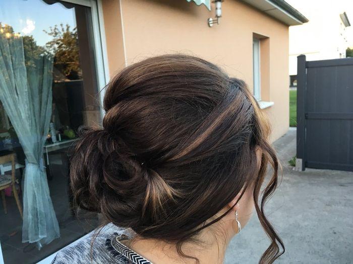 Mon dernier essaie coiffure à 17js du mariage - 1
