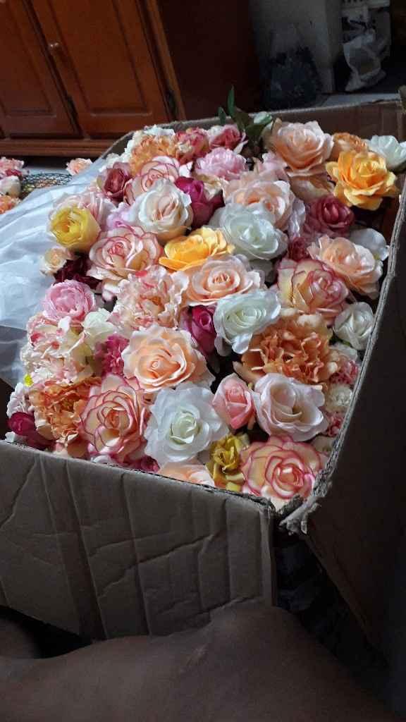 Mur fleuri pour Photocall - 1