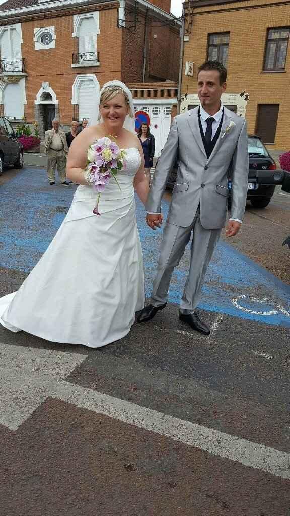 Voilà nous sommes mariés 😀 depuis le 29juillet ❤ - 1