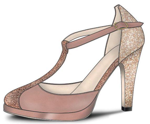 Chaussures Blanches ou Vieux rose, mon coeur balance 3