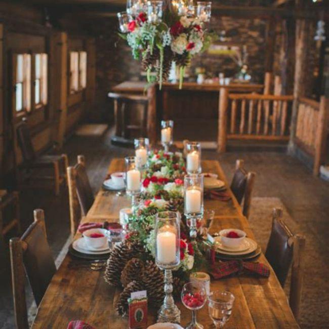 Un mariage à Noël, vous validez les inspirations ou pas ? 5