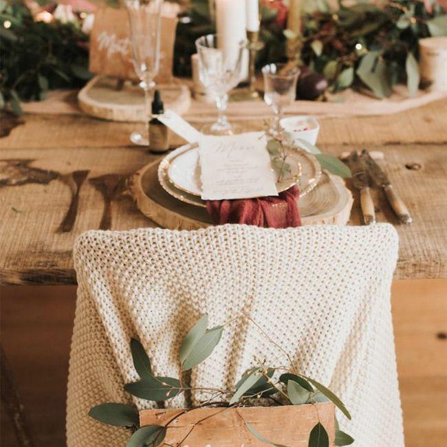 Un mariage à Noël, vous validez les inspirations ou pas ? 6