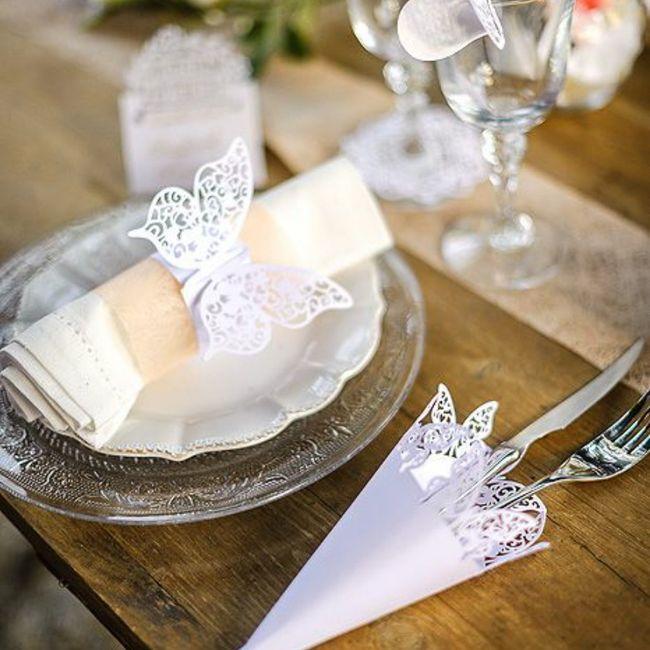 Des papillons pour votre mariage 2