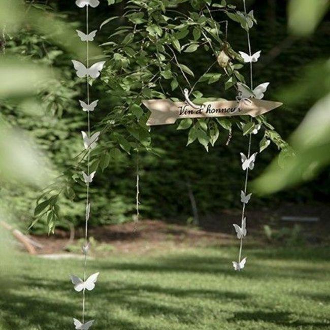 Des papillons pour votre mariage 4