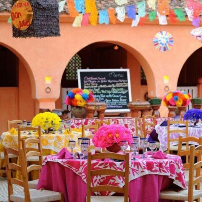 Un mariage haut en couleur, un peu, beaucoup, passionnément, à la folie, pas du tout ? 12