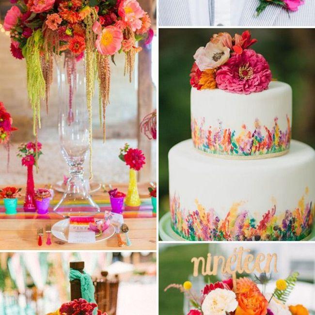 Un mariage haut en couleur, un peu, beaucoup, passionnément, à la folie, pas du tout ? 14