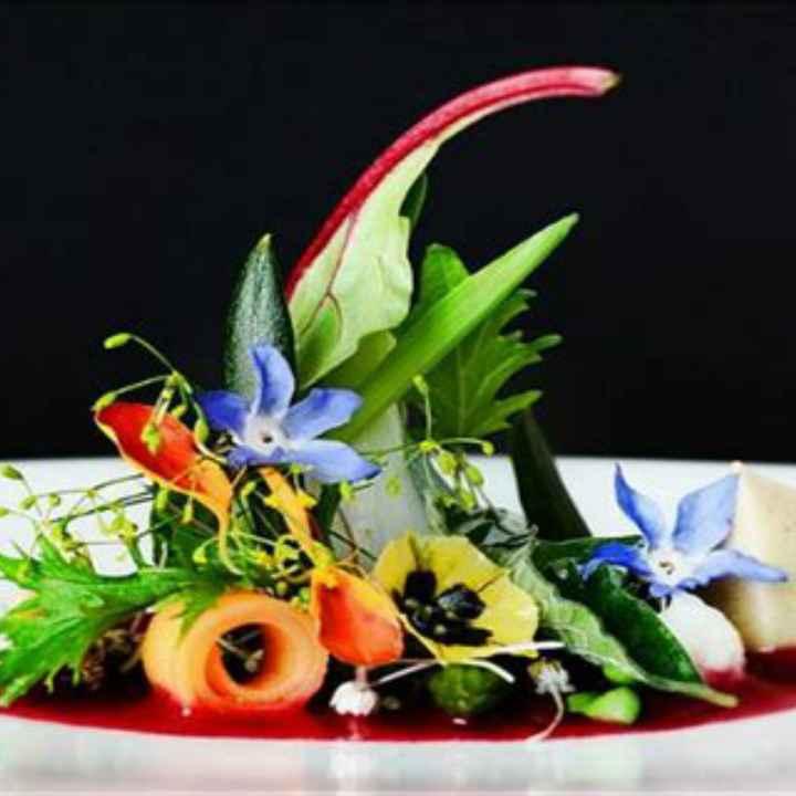 f comme ..... fleurs dans l'assiette - 7
