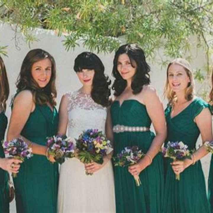Robes demoiselles d'honneurs - 1