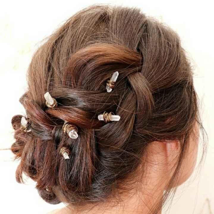 Des cristaux dans les cheveux ? - 1