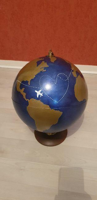 Urne globe mariage 3