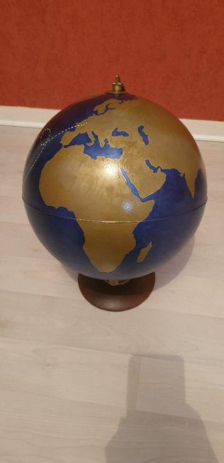 Urne globe mariage 4