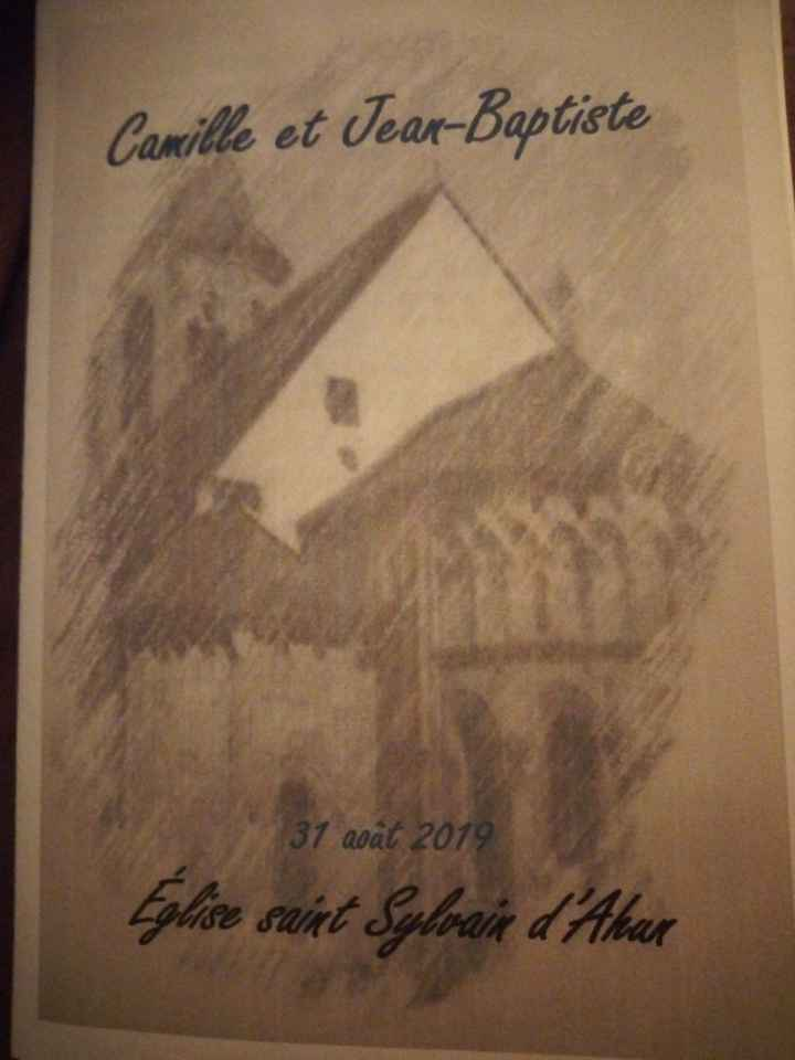 Livret pour l'église - 1