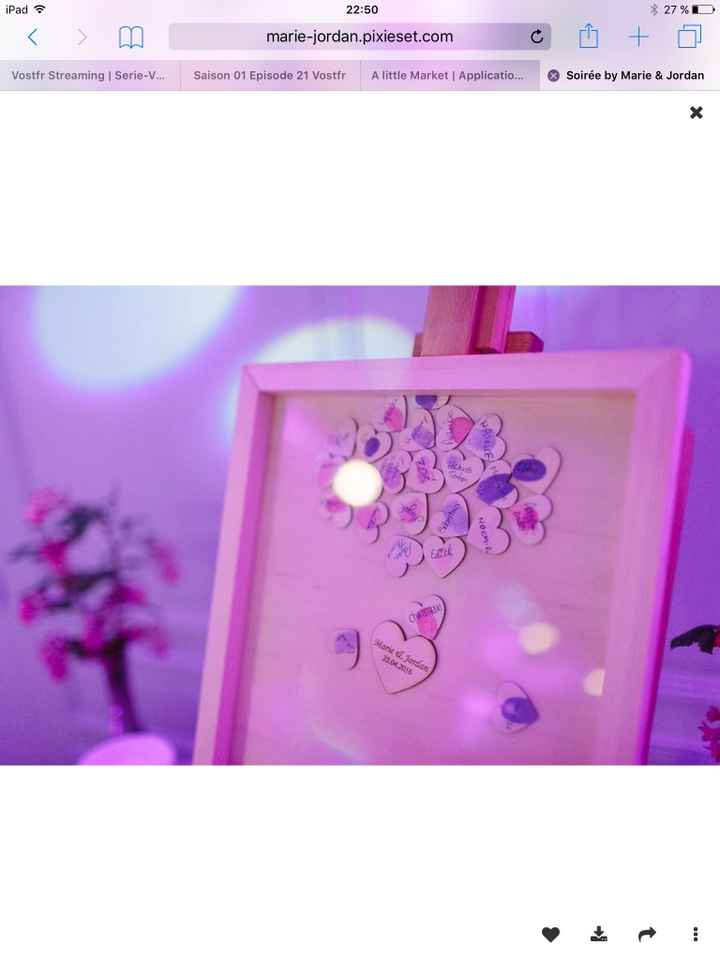 Mes inspirations - mariage blanc/violet - 4