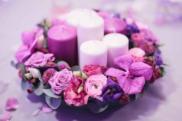 Mes inspirations - mariage blanc/violet - 5