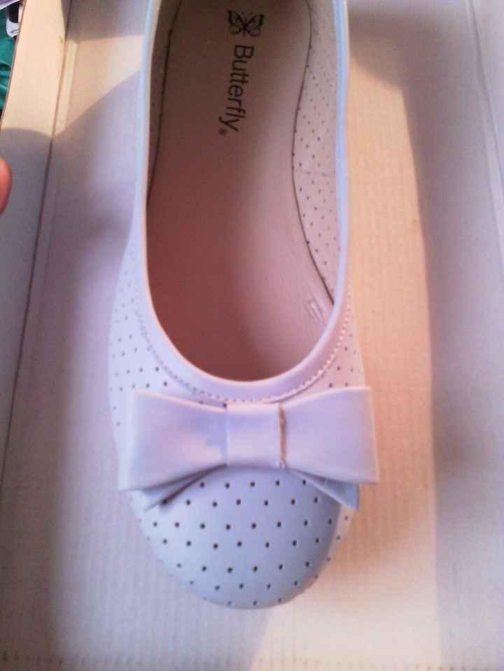 ma seconde paire de chaussures