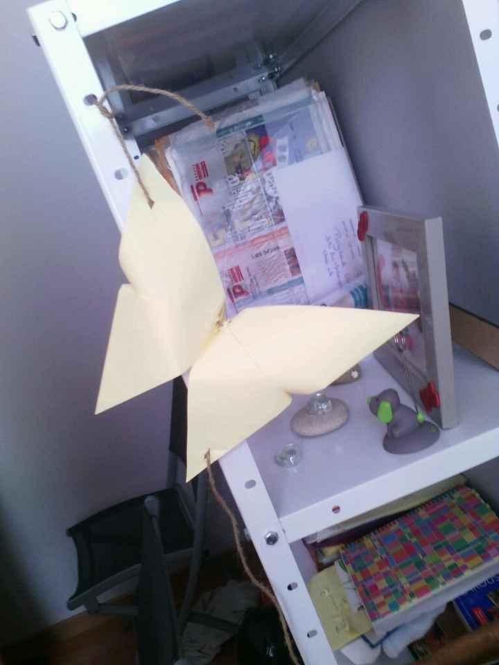 Guirlande origami - 1