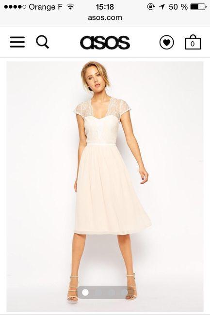 Ma robe du lendemain: vos avis - 1