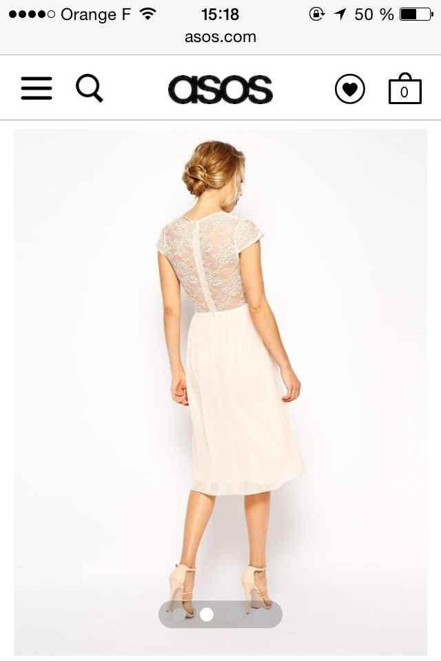 Ma robe du lendemain: vos avis - 2