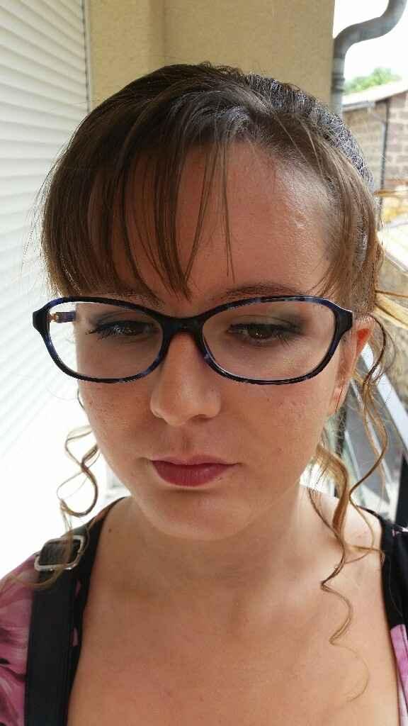 Exemples maquillage pour yeux vert/marron - 2