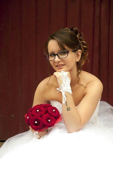 Maquillage, mariée....et lunettes! - 1