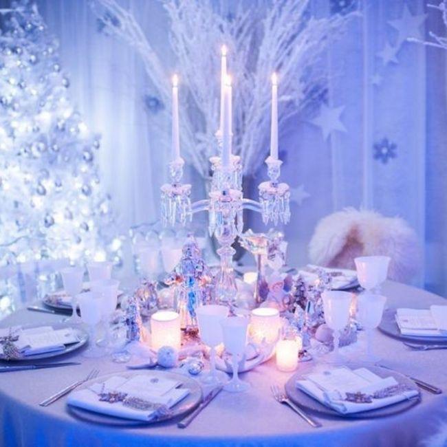 Inspiration pour un mariage glacé ❄️ 5