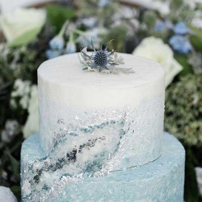 Inspiration pour un mariage glacé ❄️ 6