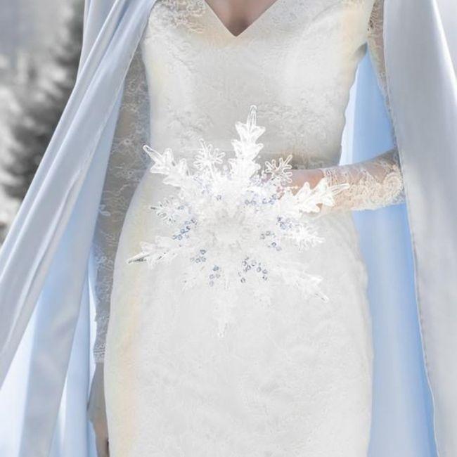 Inspiration pour un mariage glacé ❄️ 8