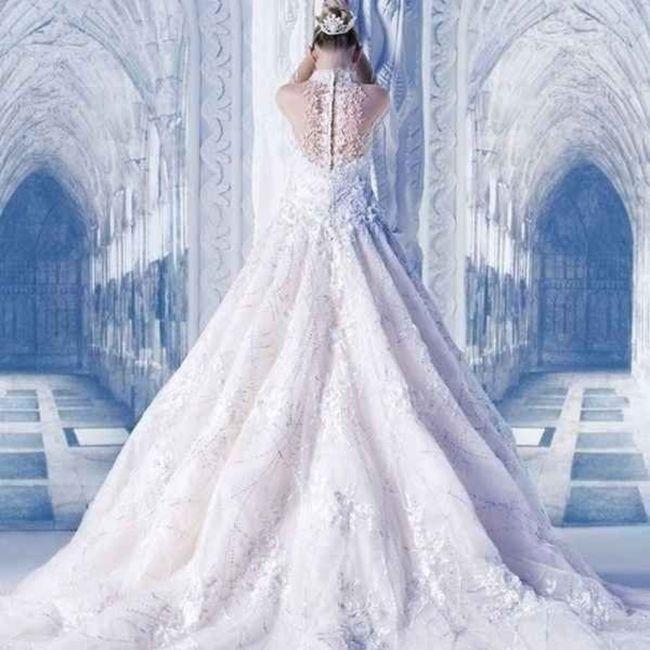 Inspiration pour un mariage glacé ❄️ 9