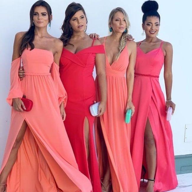 Robes demoiselles d'honneurs 8