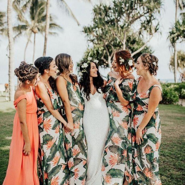 Robes demoiselles d'honneurs 10