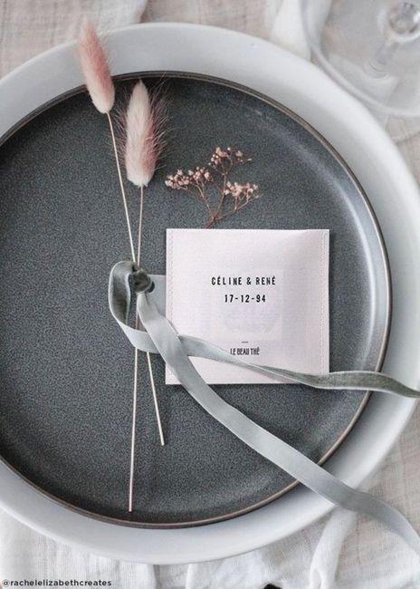 Petit cadeau pour les invités : le beau thé 🍵 - 1