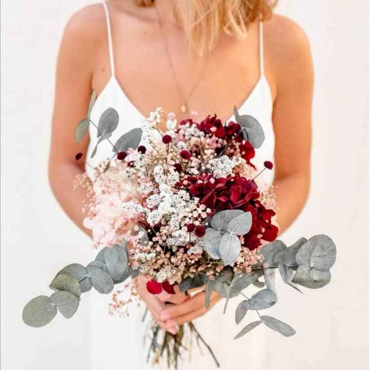 Bouquet en fleurs séchées - 1