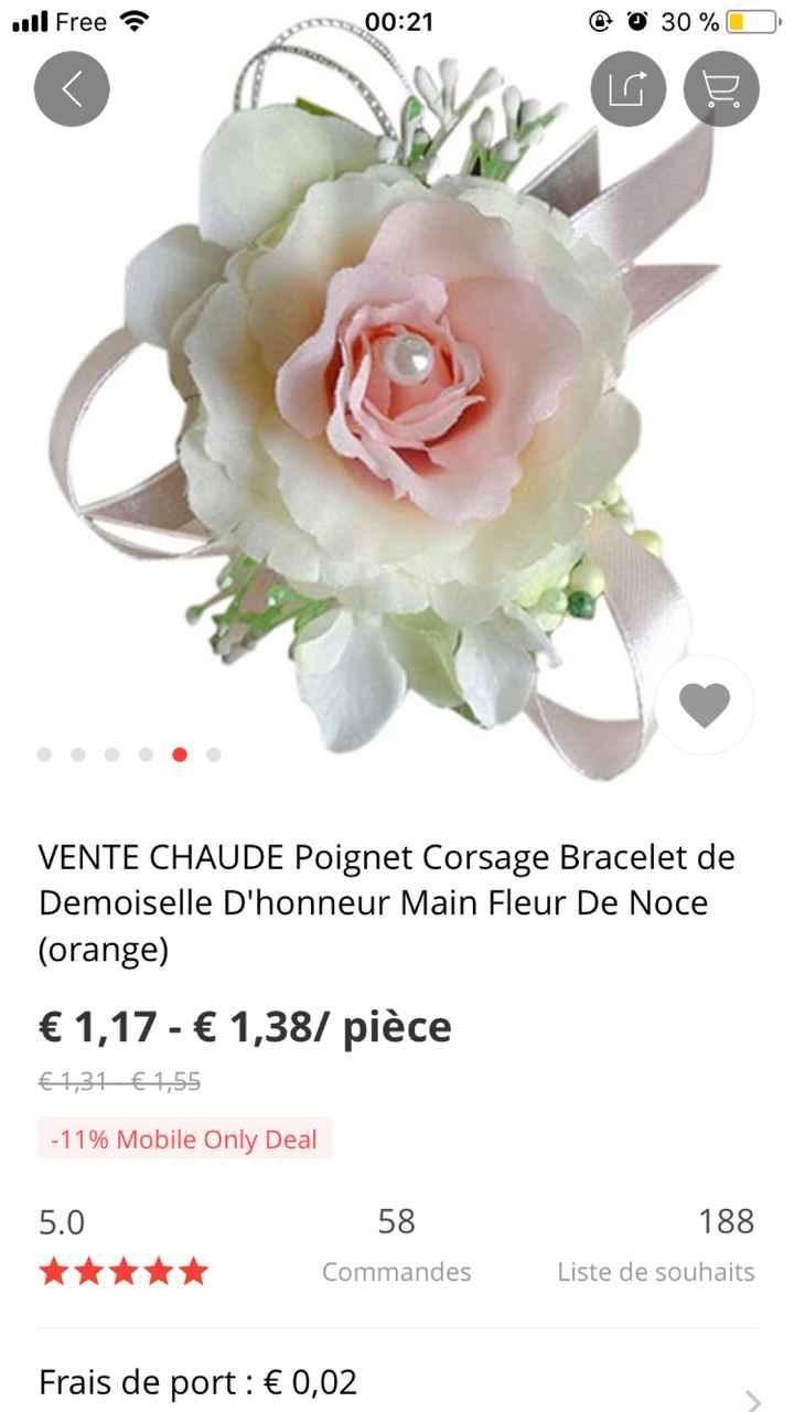 Avis bracelet fleuris - 2