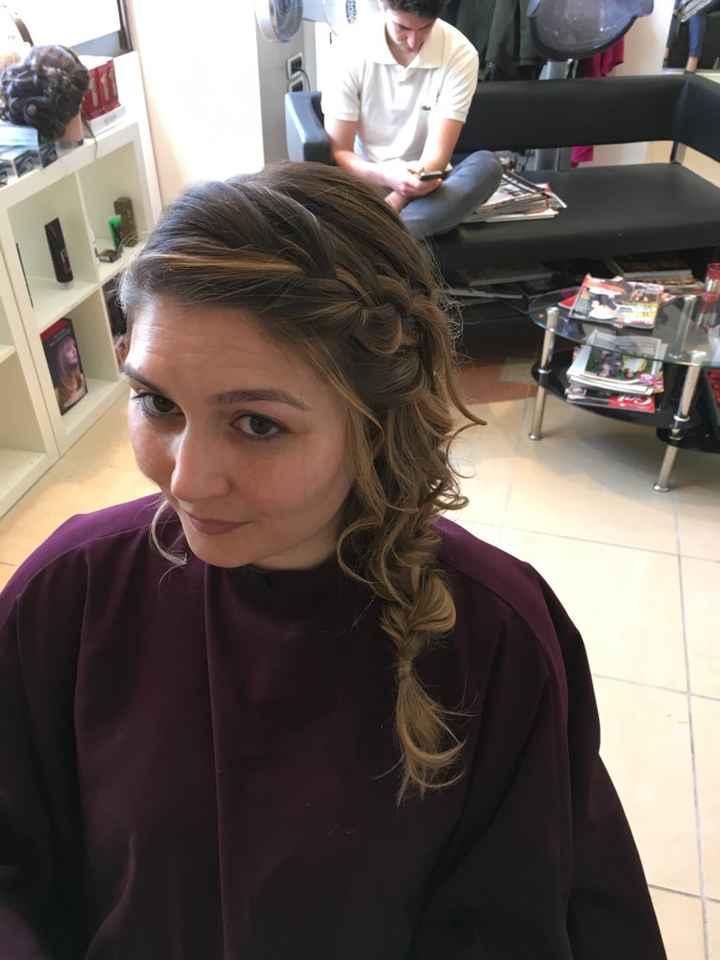 Essai maquillage  coiffure robe - 2
