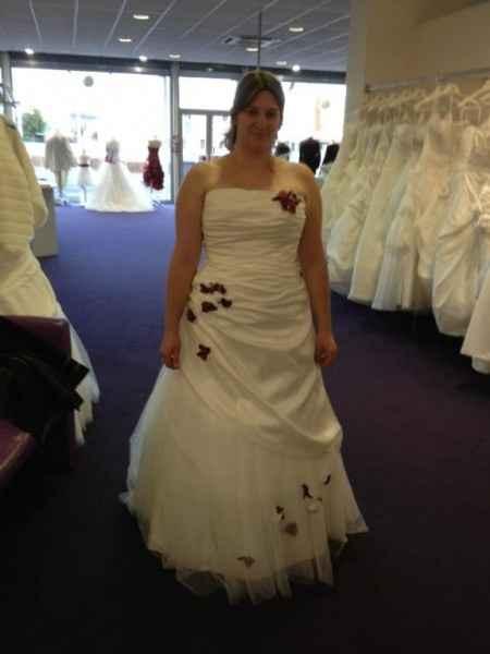 essayage robe de mariée